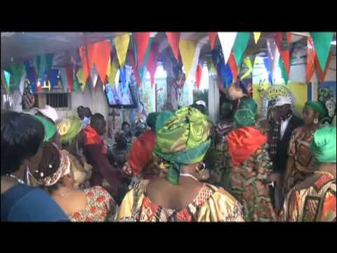 Petwo-Kongo rite: Salutation of Agawou II (Video 27)