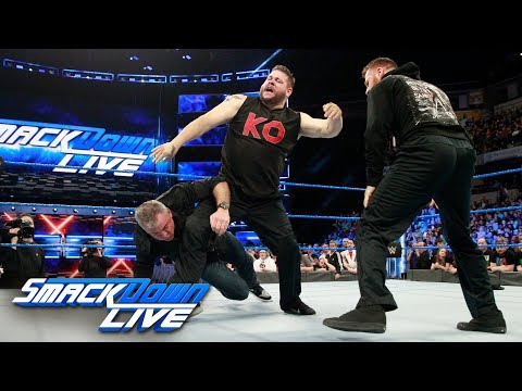 Kevin Owens & Sami Zayn brutally attack Shane McMahon: SmackDown LIVE, March 13, 2018 thumbnail