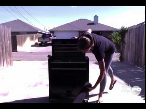 Craftsman 5-Drawer Tool Box Review - YouTube