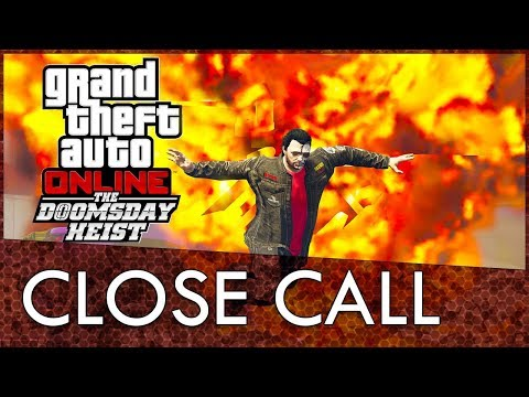 GTA Online: A Very Very Close Call During The Doomsday Heist Criminal Mastermind Challenge