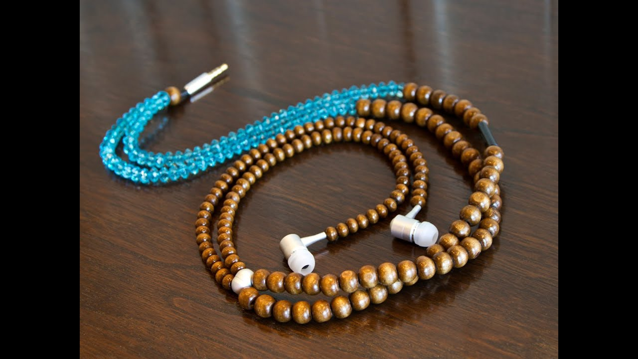 How to make a bracelet from headphones. several types of jewelry made by yourself. Step-by-step instruction 40