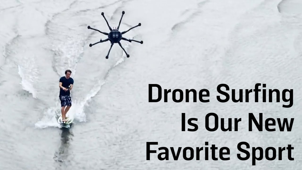 Drone Surfing Is Our New Favorite Sport