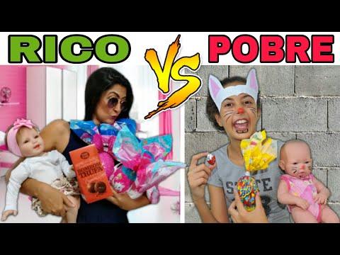RICO VS POBRE  na PÁSCOA