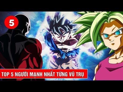 Top 5 chiến bình mạnh nhất của từng vũ trụ trong Giải đấu sức mạnh Dragon Ball Super thumbnail
