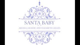 Ariana Grande ft. Elizabeth Gillies - Santa Baby (Speed up/Chipmunk version)