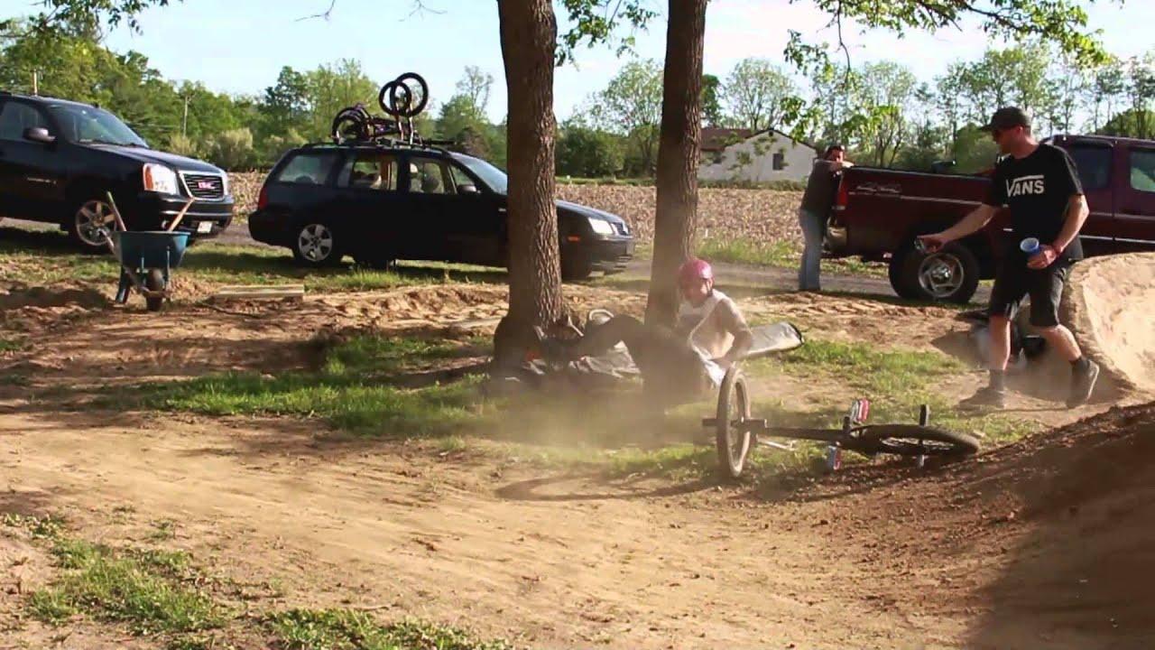 Backyard Bmx Dirt Jumps - House of Things Wallpaper