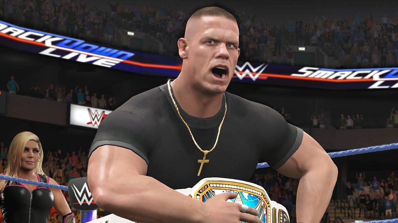 Download WWE 2K17 Story - John Cena Unifies The Titles 👑 - Ep.46