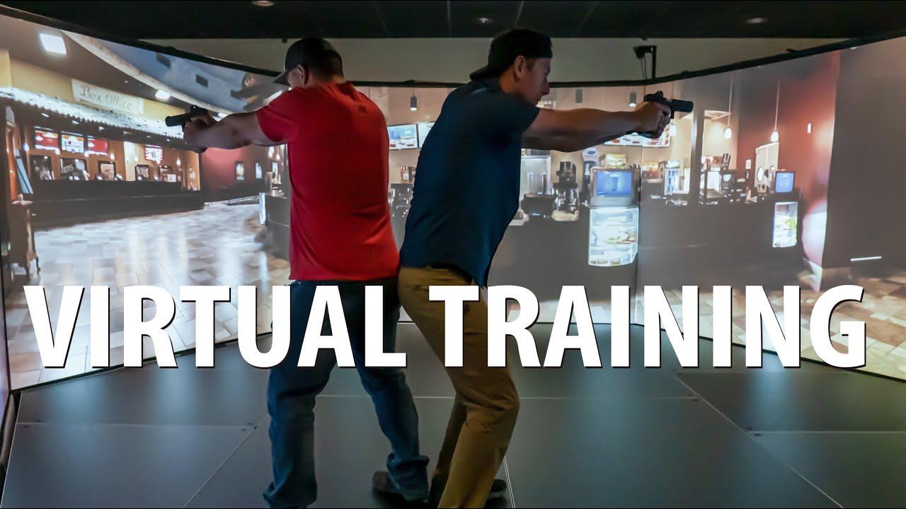 Virtual Shooting Simulator Defense Training at Vortex Edge