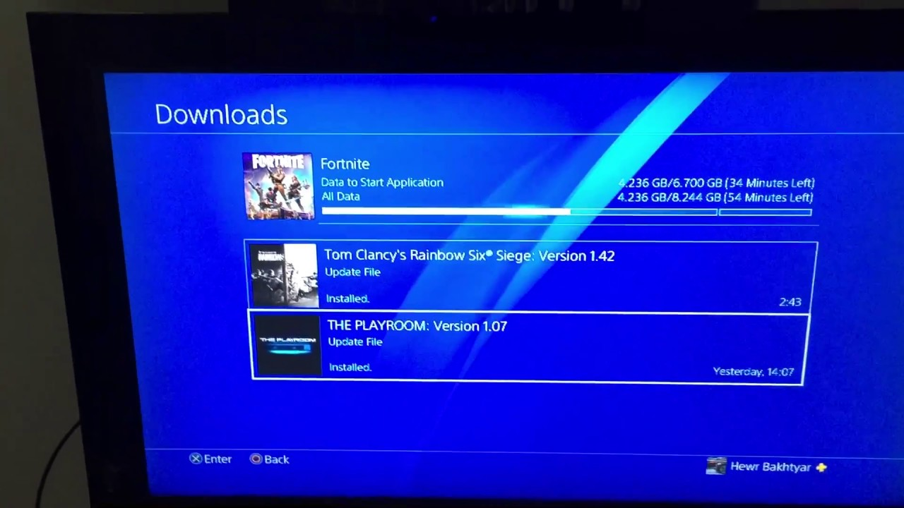 why does fortnite download so slow ps4