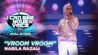 I Can See Your Voice Malaysia : Nabila Razali - Vroom Vroom | #ICSYVMY
