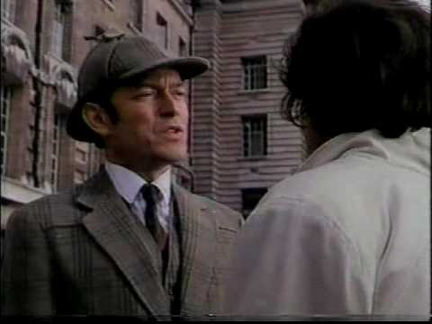 THE RETURN OF SHERLOCK HOLMES (CBS; 1987) Scene 1: Holmes takes the case