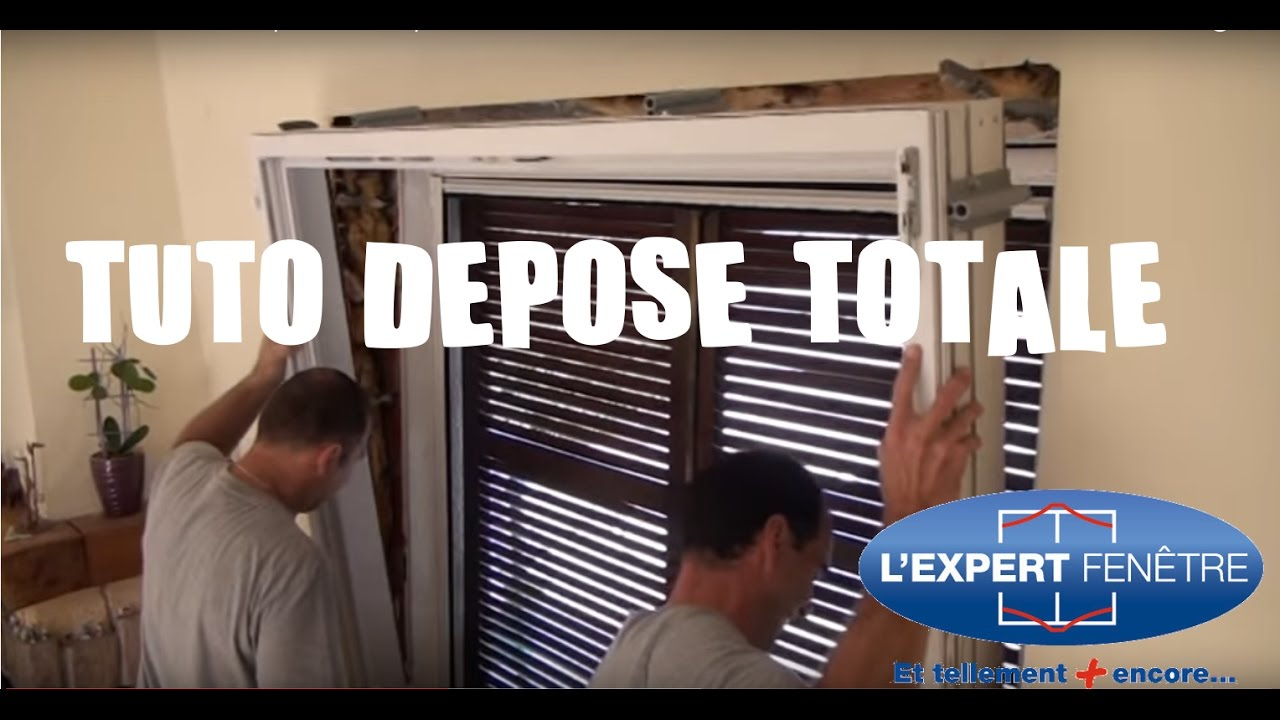 Installation fen tre pvc en d pose totale l 39 expert fen tre for Depose totale fenetre