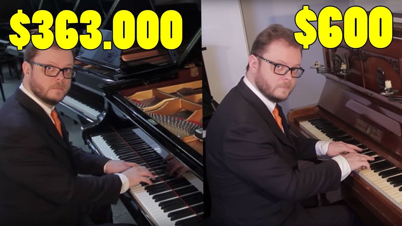 The Difference Between a Cheap & Expensive Piano?
