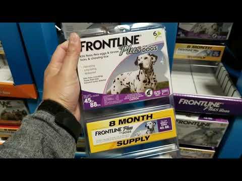 Costco! Frontline Plus (Flea / Tick Meds for pets) 8 pack $66!!!
