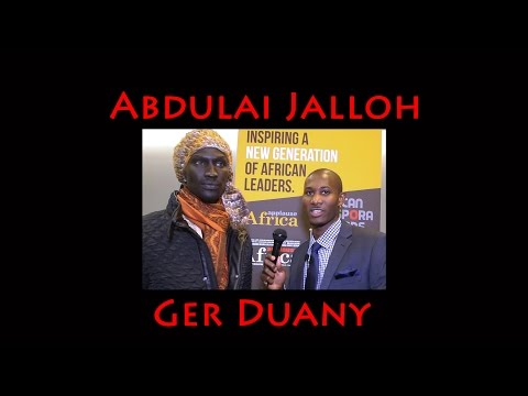 ADA Red Carpet  with Ger Duany