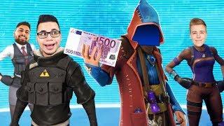 Der LETZTE bekommt 500 EURO in FORTNITE mit AVIVEHD, KIDMAVE und ODUMANPIQUE