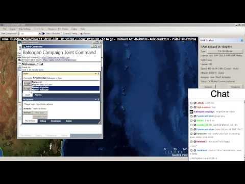Episode 9 Part 2 Falklands/Malvinas Multiplayer - Command: Modern Air/Naval Operations