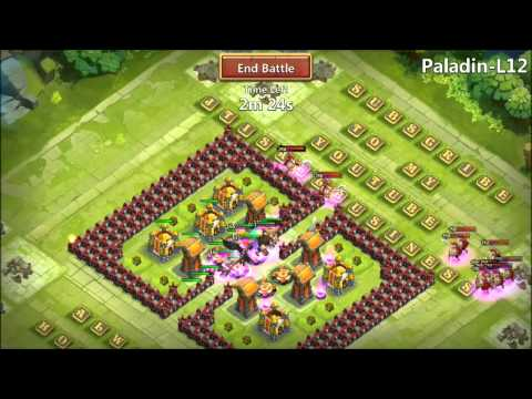 MOLTANICA Hero Trials L12 Castle Clash 6000 Honorbadge Reward INSANE