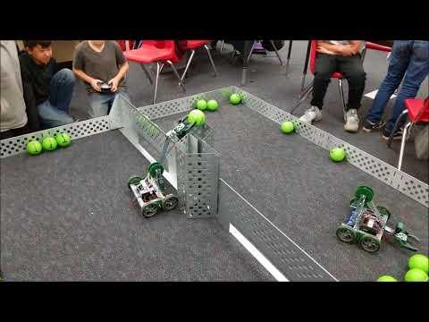 Vex Robotics Ball Game Swept Away