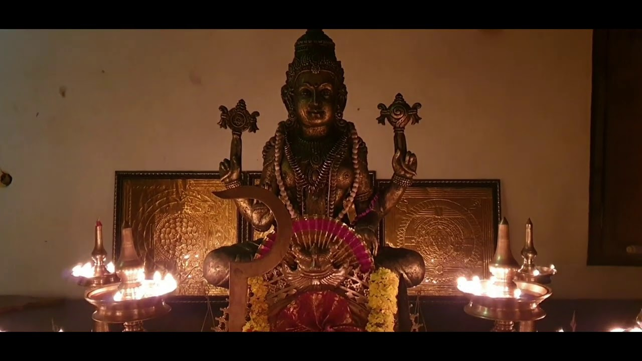 Lalita Panchavimshati Stotram | Sarvabhishta Mantra | Prosperity Mantra | Sreejith Nampoothiri