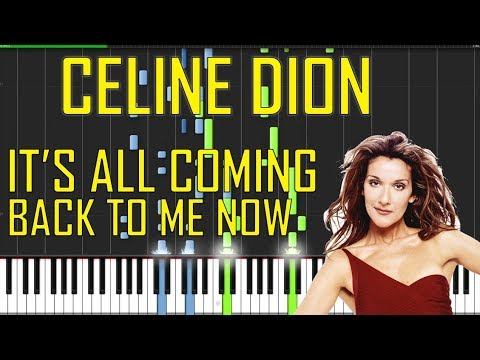 Celine Dion - It's All Coming Back To Me Now Piano Tutorial - Chords - How To Play - Cover