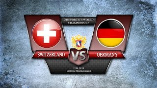 WW U18. Switzerland -Germany