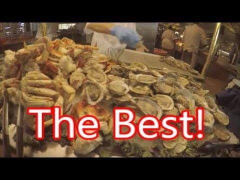Harvey's Lake Tahoe Seafood Buffet, South Lake Tahoe, NV...Friday Night Restaurant Reviews