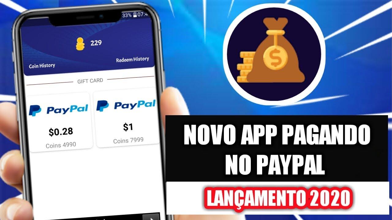 GANHE $1 DÓLAR FÁCIL NO PAYPAL COM ESSE APP | NOVO APP PAGANDO | MELHOR DE 2020