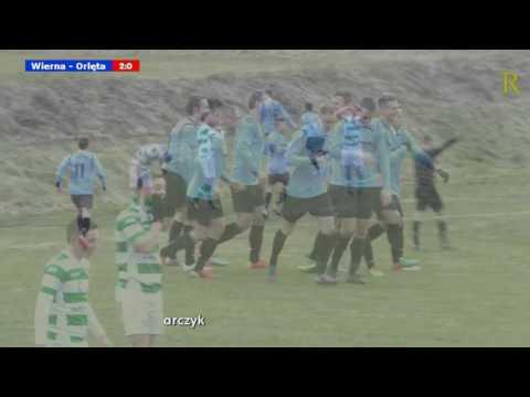 Wierna Małogoszcz - Orlęta Radzyń Podlaski 4:1. Skrót meczu (2017.03.11)