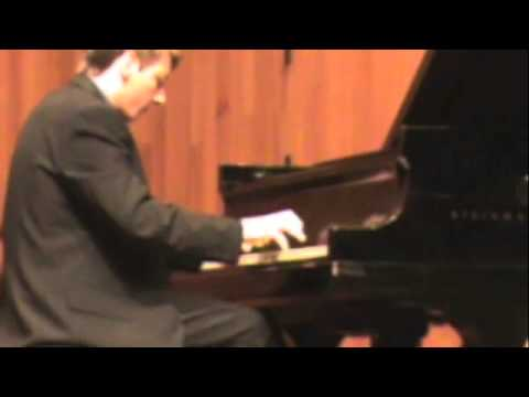 Chris Dukich Performing Rachmaninoff Piano Concerto #2 First movement