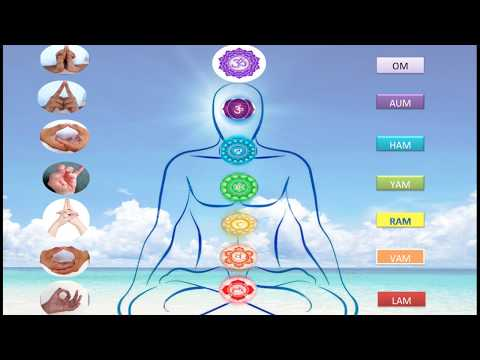 Meditation with 7 chakras for 5 minute (heal,open,energies with guidance)