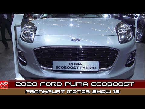 2020 Ford Puma Ecoboost Hybrid - Exterior And Interior - Debut At Frankfurt Motor Show 2019