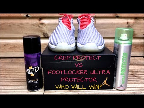 CREP PROTECT VS FOOTLOCKER ULTRA PROTECTOR