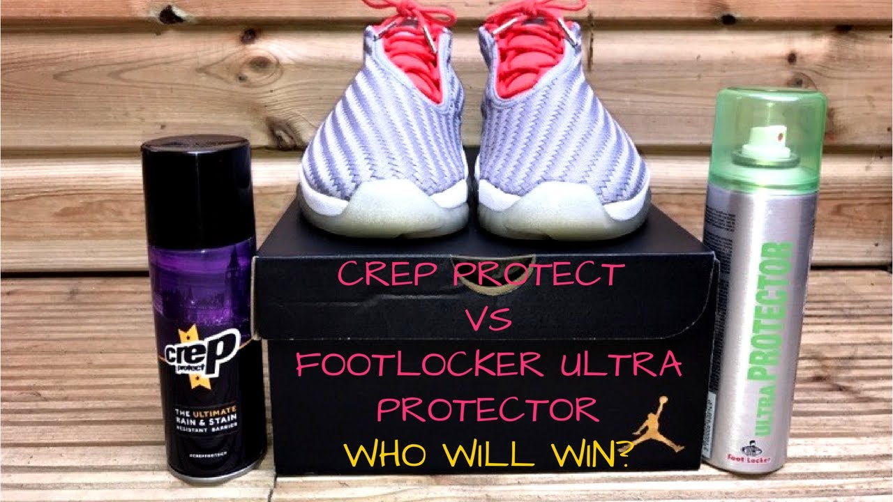 CREP PROTECT VS FOOTLOCKER ULTRA