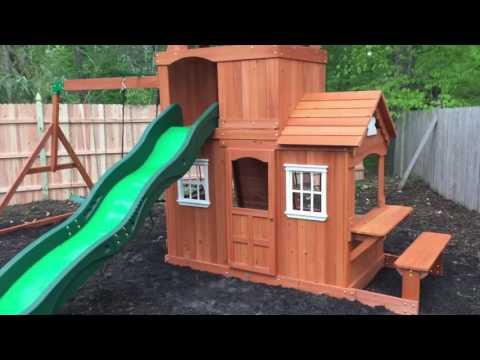 backyard discovery shenandoah playset review amp install