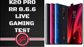 🔴LIVE K20 PRO | PUBG MOBILE HDR EXTREME | RUNIC POWER | RR 8.6.6 | FPS & HEAT TEST | ANDROID 11