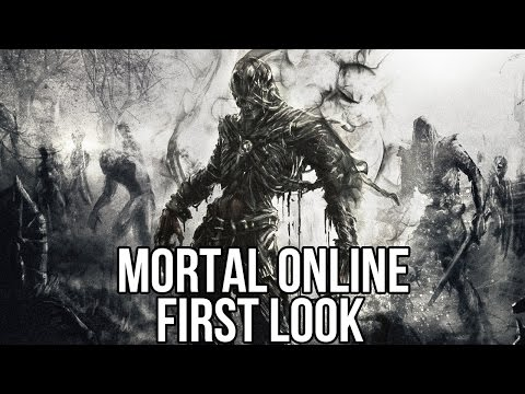 Mortal Online (Free MMORPG): Watcha Playin'? Gameplay First Look Steam 2015