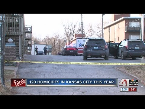 120 homicides reported in Kansas City this year