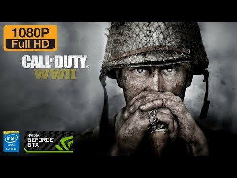 Call Of Duty : World War II (SP) | i3 7100 | GTX 1050ti OC Edition | FPS Test | 1080p60fps