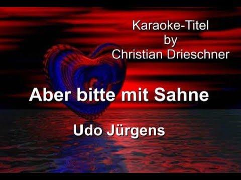 aber bitte mit sahne karaoke