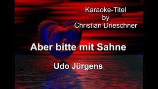 Aber bitte mit Sahne - Udo Jürgens - Karaoke