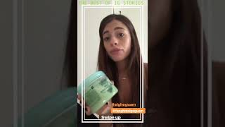 Chiara Nasti instagram stories 29 October 2018