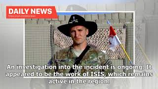 Daily News - American soldier wounded in Manbij attack fighting for his life