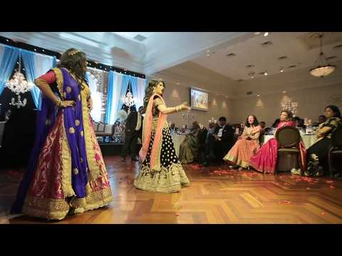 O Jiji - Dance Performed by the Bride (Arpita) and her Sister (Nikita)