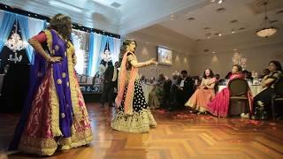O Jiji - Dance Performed by the Bride (Arpita) and her Sister (Nikita)