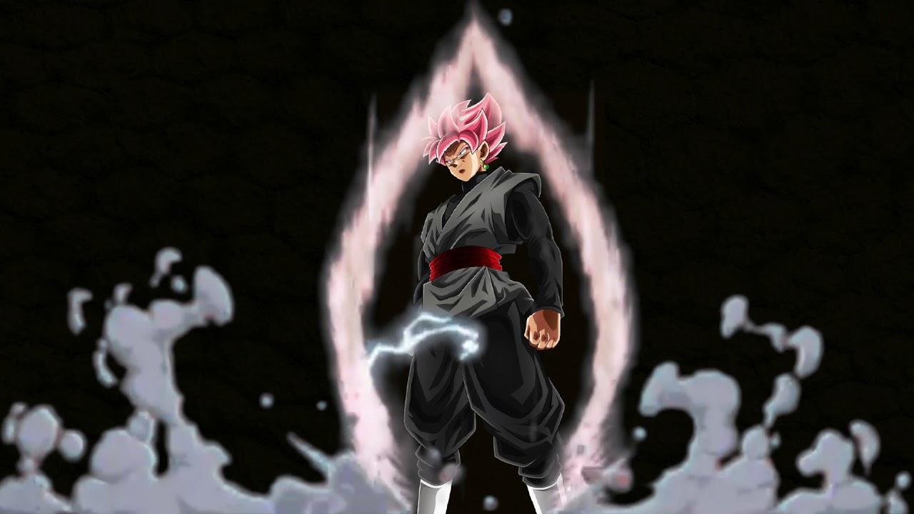 Live Wallpaper Goku Black - YouTube