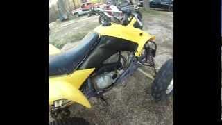 Yellow 2004 Honda 400ex Walk Around & RIDE