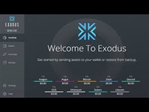 Where Can I Find My Bitcoin Wallet Address In Exodus Wallet???