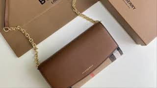 지갑대용 버버리 미니클로치백 이쁘죠  #버버리미니가방 …