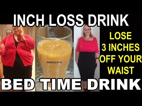 Bed Time Drink To Lose Belly Fat In A Week | Inch Loss Drink | Belly Fat Cutter Drink